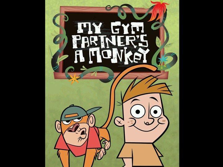 My Gym Partner's A Monkey | cartoon | Pinterest