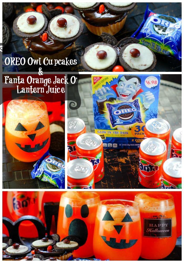 2 ingredient orange u0026 black cupcakes made with a cake mix and fanta orange soda u0026