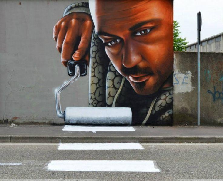 Caiffa Cosimo ou la réalité augmentée version street-art