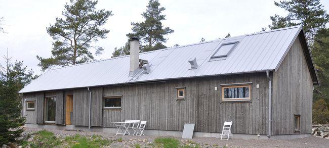 Hus modell Slåtteråsen, foto.