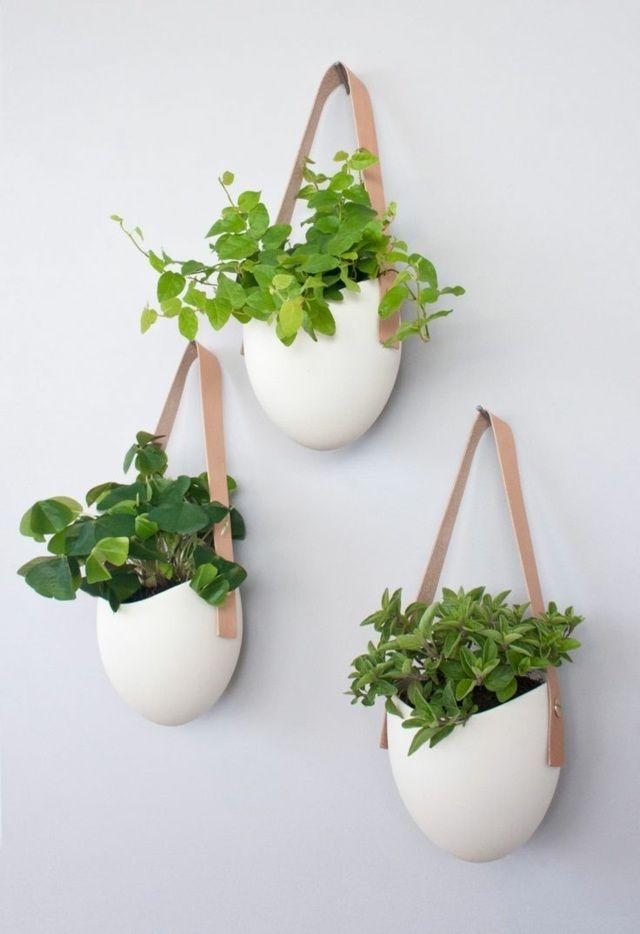 Idée originale de bricolage de pots de fleurs de photophores