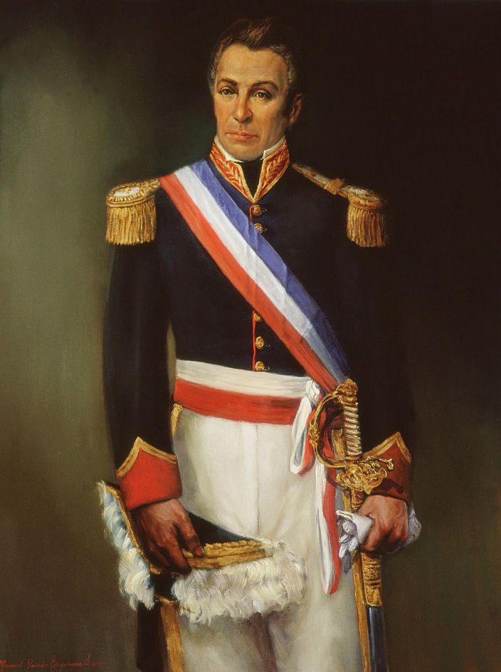 FRANCISCO ANTONIO PINTO (1785-1858). Presidente de la República entre 1827 y 1829, año en que estalló una revolución conservadora. Manuel Ramón Espinosa Salas.