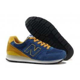 New Balance 996 Mørkblå Orange Hvid Herre