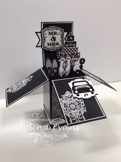 Carolina Evans - Stampin' Up! Demonstrator, Melbourne Australia: January Crazy Crafters Blog Hop - Black & White