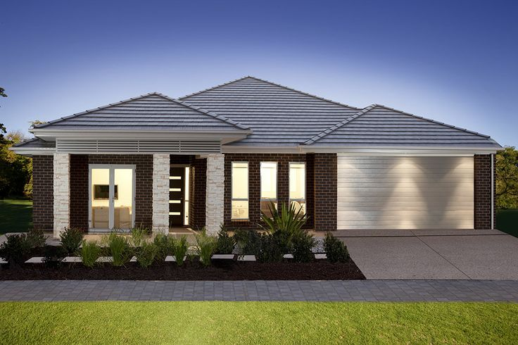 Seisuke Display Homes Meridian 215 Newport Facade