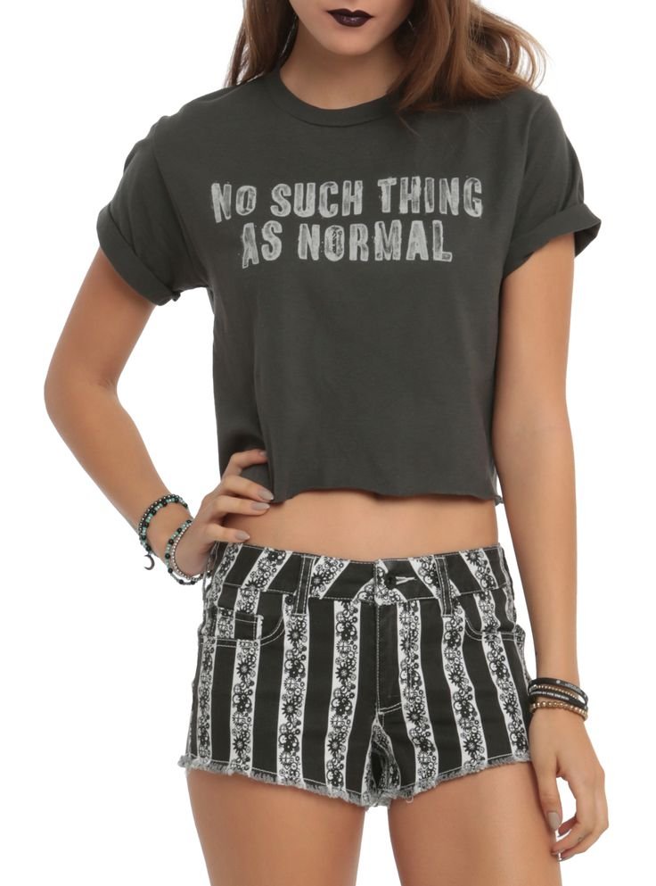 Being normal is soooo overrated.