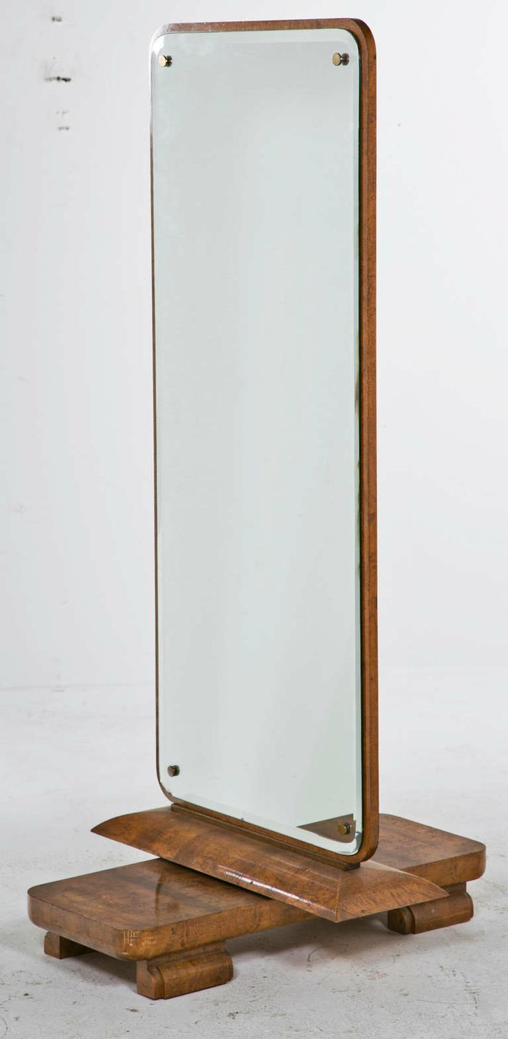 Art Deco / Moderne Dressing Mirror image 3