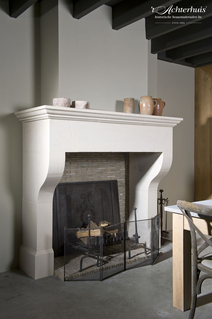 Fireplaces available at 't Achterhuis. All kinds of materials
