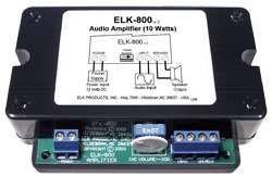 ELK PRODUCTS ELK800 ELK ELK-800 10 WATT AUDIO AMP by ELK. $57.42. Compact 10 watt Audio amplifier for use with public address systems. Save 18%!