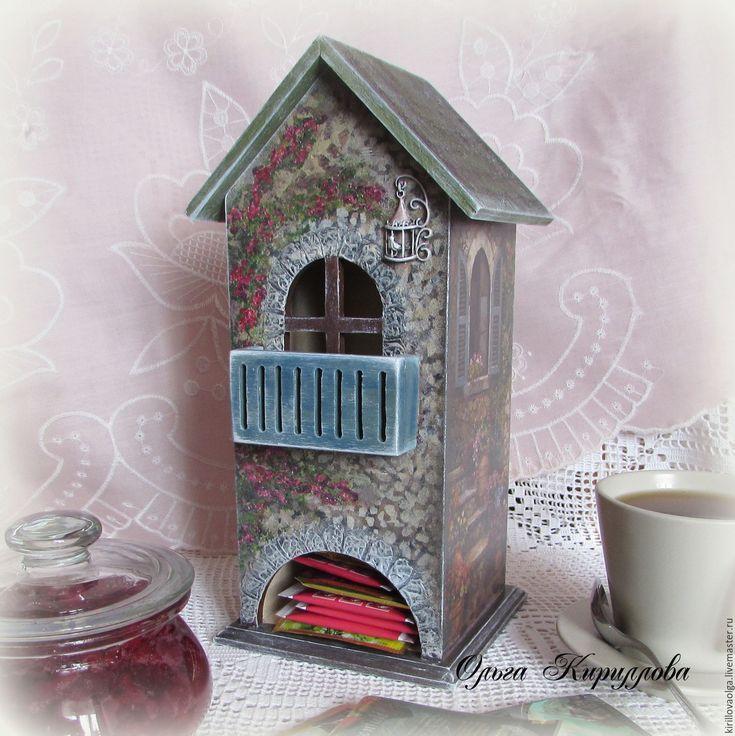 """Купить """"В уютном дворике"""" чайный домик - комбинированный, чайный домик, чайный…"""