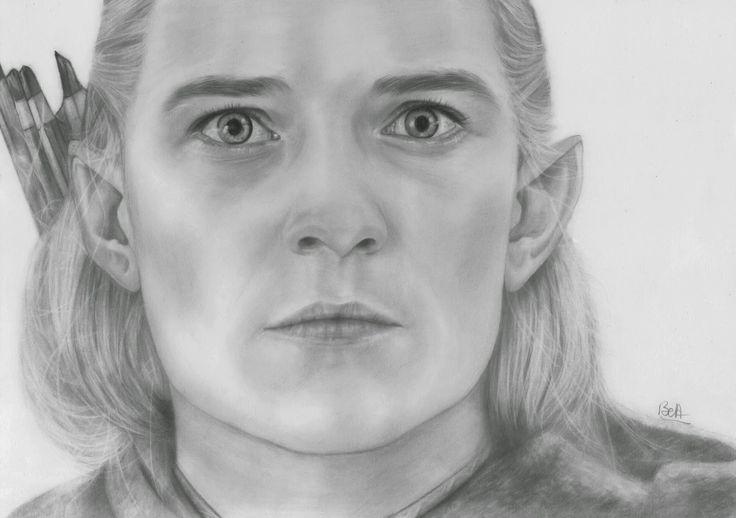 Dessin elfe seigneur des anneaux recherche google - Dessiner un elfe ...