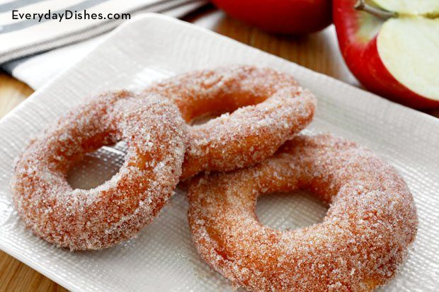 These delicious cinnamon apple rings make a great snack or dessert!