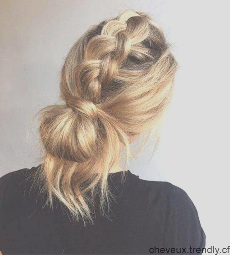 Coiffure De Noel Grosse Tresse Et Chignon Flou Hair Styles Long Hair Styles Hair