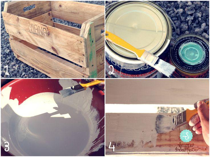Simone Insaurrade: DIY: Móveis com caixote de feira