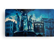 Deep Blue at the Alexandra Fountain - Bendigo, Victoria Metal Print