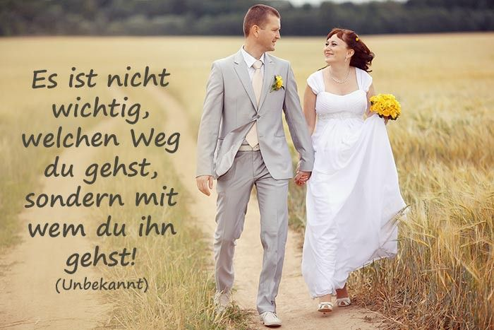Sprüche Hochzeit