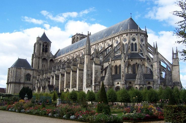 Majestic St. Stephen's Cathedral Bourges dominates the town and impresses with its size and its architecture. True vessel of stone, this is one of the largest Gothic cathedrals in France.
