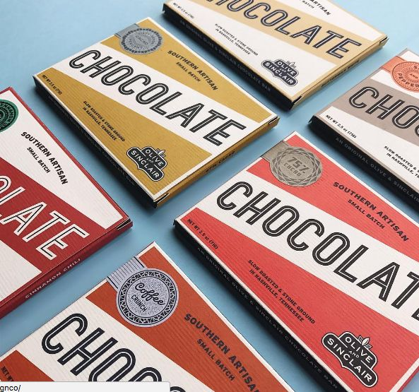 SideShow Sign Co chocolate packaging #design