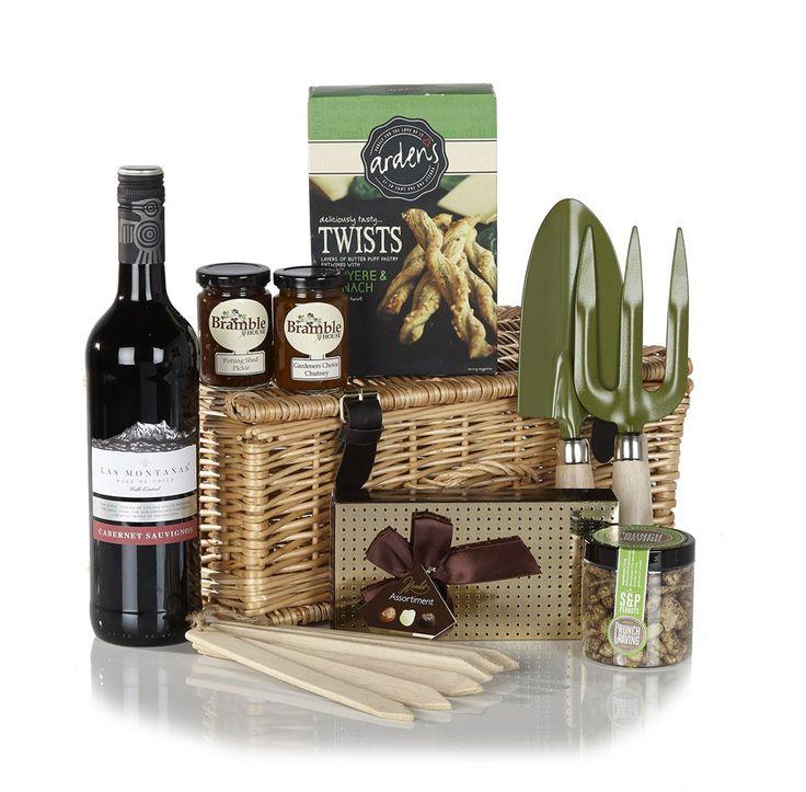Luxury Gardening Gift, Gardening Gift With Wine U0026 Nibbles.