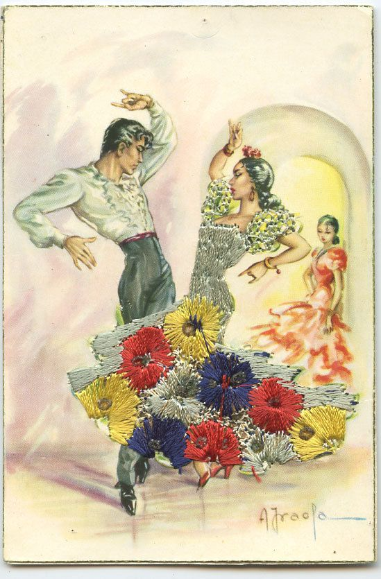 1960s Spanish postcard   eBay