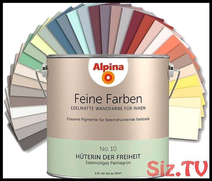 Alpina Feine Farben Edelmatte Wandfarbe Fur Innen Alle Farbtone 2 5l Dose 25l Alle A Alpinafeinefarben In 2020 Feine Farben Wandfarbe Feine Farben Alpina