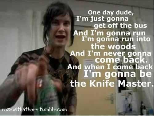 AND WHEN I COME BACK.... hahahahah the rev best quote ever.  r.i.p jimmy<3
