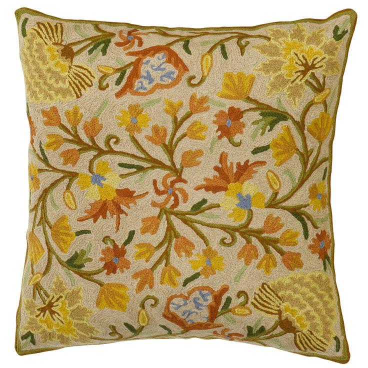 Handmade Flowerful-Pillow 🌼