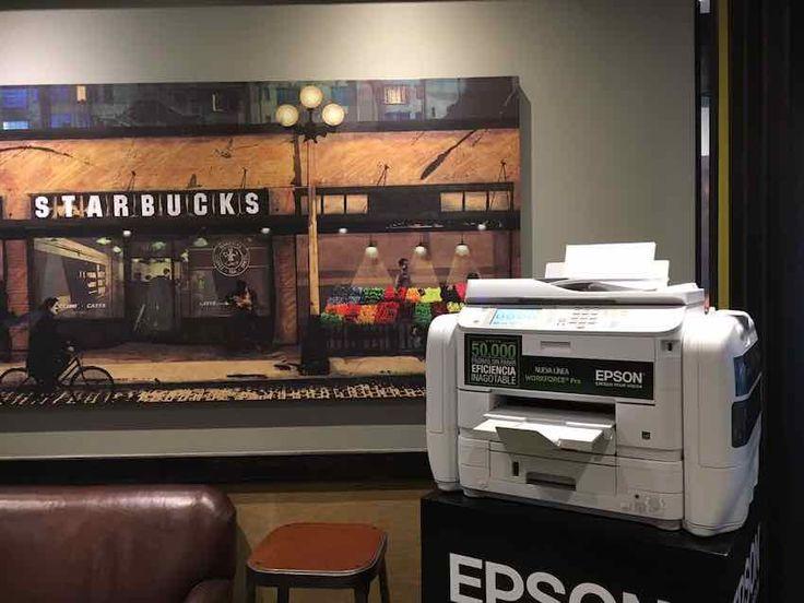 Se puede imprimir gratis documentos, fotografías, trabajos pendientes gracias a la alianza gestada entre Starbucks y Epson.