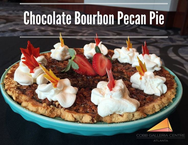 Happy National Pecan Pie Day! Chef Nick Walker makes a delicious Chocolate Bourbon Pecan Pie. Try out the recipe! http://ift.tt/2vcnaHu  #cobbgalleria #chefnickwalker #pecanpie #nationalpecanpieday #chocolate #bourbon #recipe #food #atlfoodie #atlantafoodie