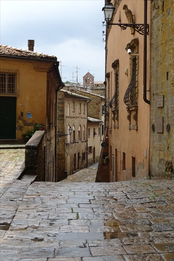 Volterra, Italy - Such a beautiful small town.