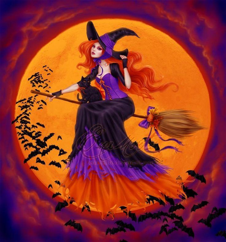 * Orange purple, black