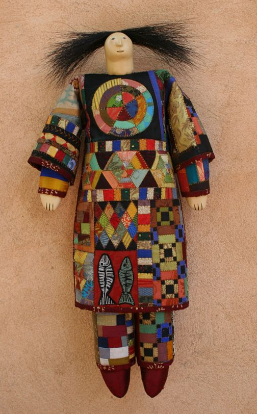 """Chaos Theory A"" doll by Charla Khanna."