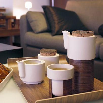 Warm tea and coffee set - Tonfisk Design