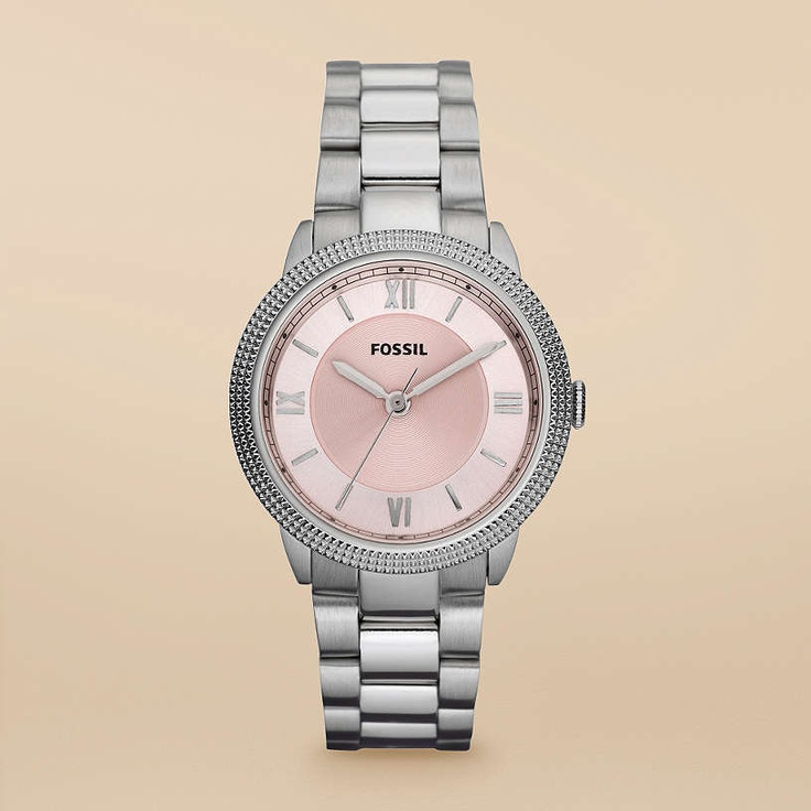 FOSSIL® Watch Collections Sydney:Women Sydney Mini Stainless Steel Watch ES3071