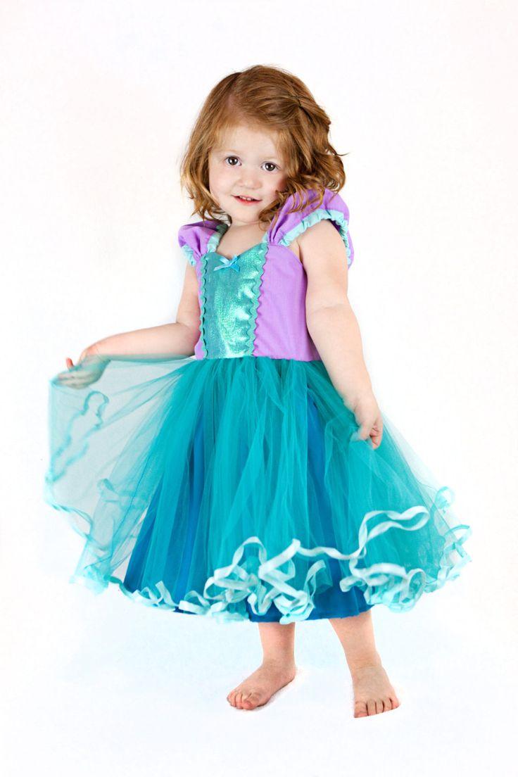Mermaid dress  princess Tutu dress for by loverdoversclothing, $58.00