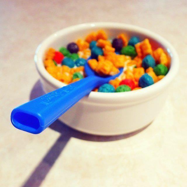 Colores vivos hasta en el desayuno. #MontoPinturas