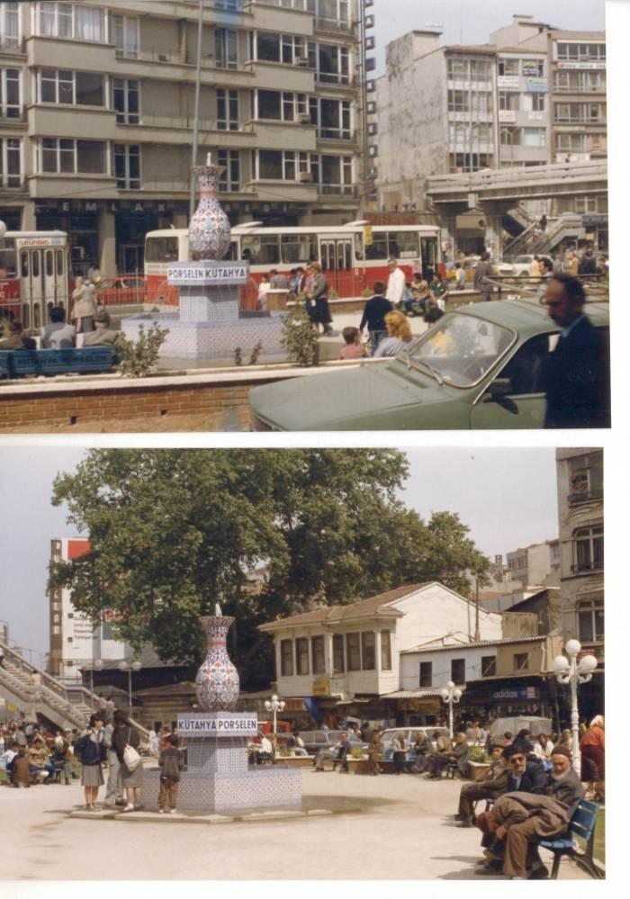 Kadıköy Çarşı Meydanı, 1985.