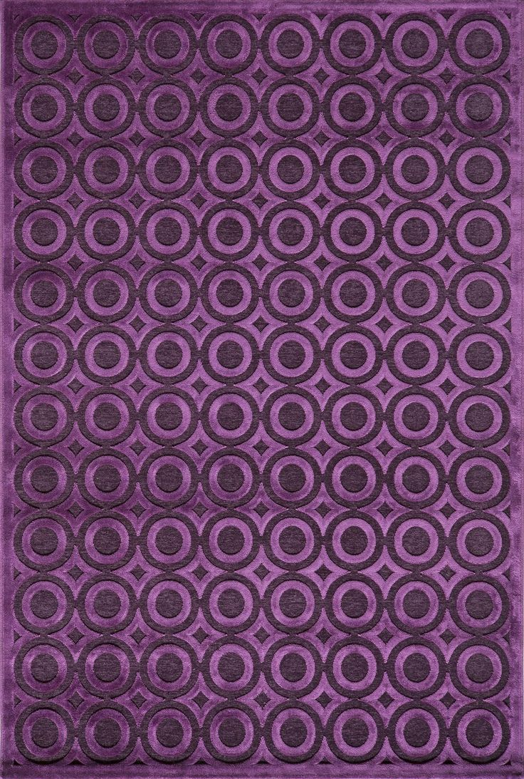 Momeni Rugs Area Rug Platinum Collection PN-03 Aubergine