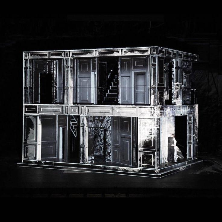 DON GIOVANNI (2014) | ES DEVLIN. Royal Opera House, London.