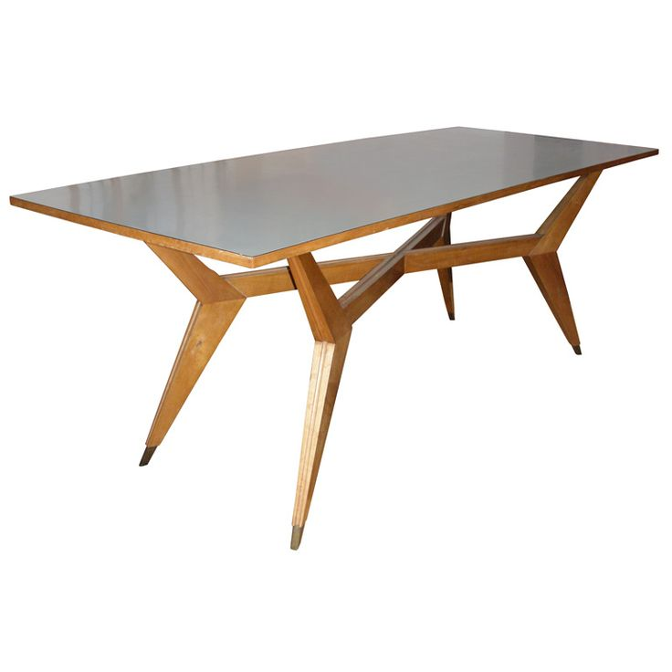 Table by Ico Parisi | From a unique collection of antique and modern dining room tables at http://www.1stdibs.com/tables/dining-room-tables/