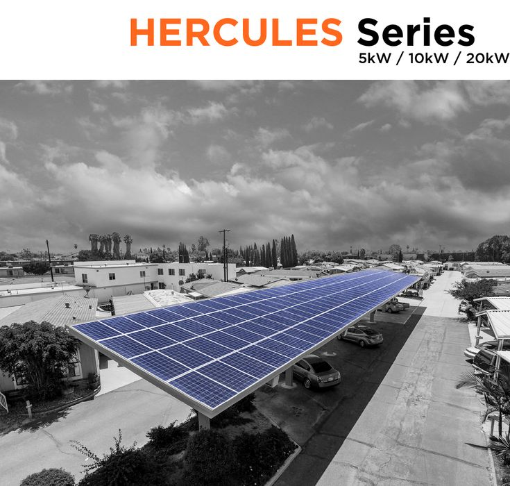 Hercules Solar Carports Symtech Solar Solar Roof Solar Panel Solar Pv