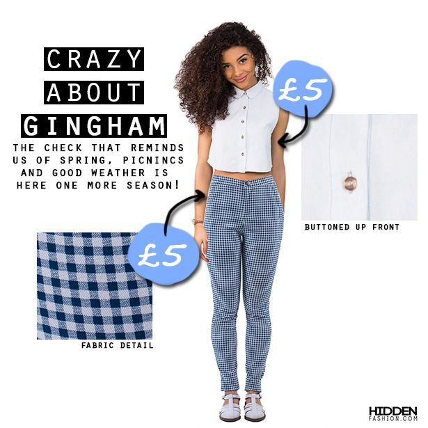 Perfect with a crop top on a sunny day, or with an oversize jumper when the sun goes down, these high waisted gingham treggings are as comfortable as cute!  Get a pair now for only £5>http://buff.ly/1DWAEd7 Or if bleached denim is your thing..>http://buff.ly/1O6d50S #hiddenfashion #fashionista #style #amazing #getthelook #outfit #summer #picnic #love #ss15 #lovefashion #fbloggers