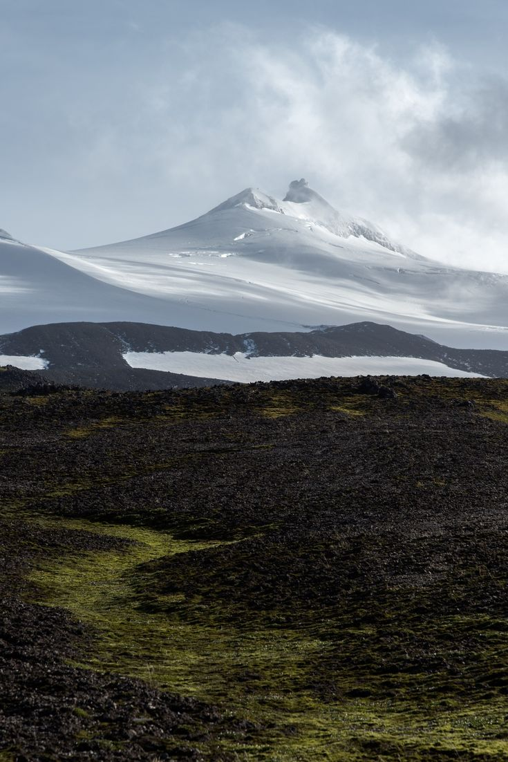 Snaefelsjökull Glacier on the Snæfellsnes Peninsula, Iceland (Photo by NORTHLANDSCAPES – Jan Erik Waider) – @JanWaider