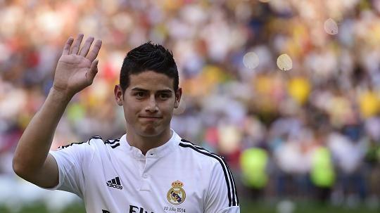 James Rodriguez Real Madrid Mercato 2014