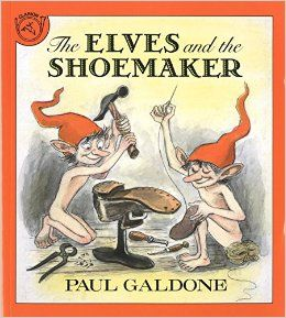 March 2016- Book Club - The Elves and the Shoemaker by Paul Galdone. (not an affiliate link, endorsement, or sponsorship) #childrensbooks #elves #Bookclub