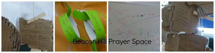 Beacon Hill Secondary School's Prayer Space In School, July 2015