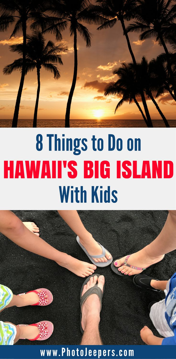 If you're planning a trip to Hawaii with kids, you have to read this post. We will share our favorite 8 things to do with kids in Hawaii during your family vacation. This includes easy hikes in Hawaii, volcanoes in Hawaii, seeing Hawaii from the air, and much more. Come check out these fun things to do in Hawaii with kids and save it to your travel board so you can find it later. #hawaii #hawaiitraveltips #familytravel