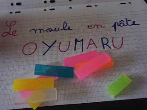 Tuto: Comment faire un moule en oyumaru? - YouTube