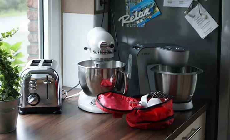 Bosch Mum vs. Kitchen Aid: Was taugt eine günstige Küchenmaschine?