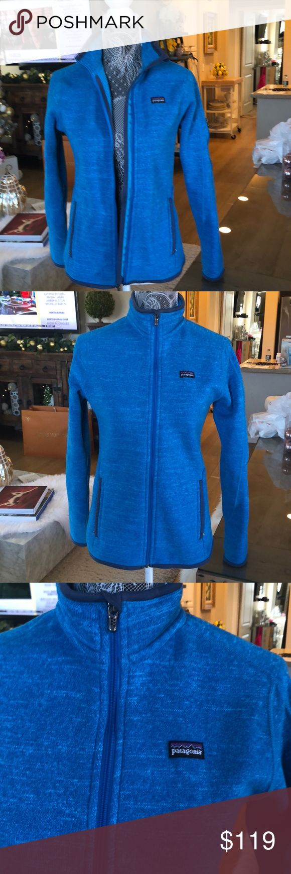 FLASH SALE🎉Patagonia Better Sweater Fleece Jacket Patagonia Women's Better Sweater Fleece Jacket. This jacket is in new excellent condition only worn once. Size Small Patagonia Jackets & Coats